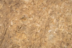 Uneven dried clay rocky surface