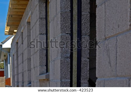 unfinished house construction