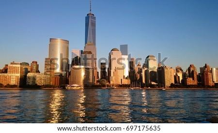 Unforgettable Manhattan view. #697175635