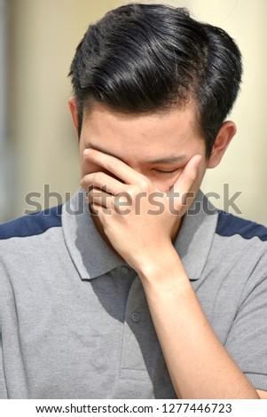 Unhappy Filipino Male
