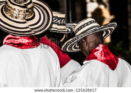 Unidentified Colombian dancers
