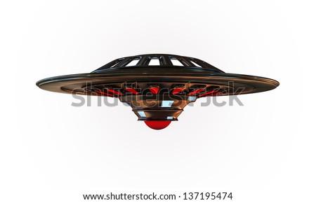 unidentified object flying