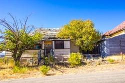 Uninhabitable One Story Home In Complete Disrepair