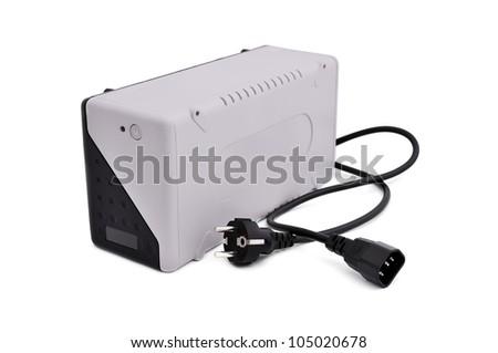 uninterruptible power supply on a white background
