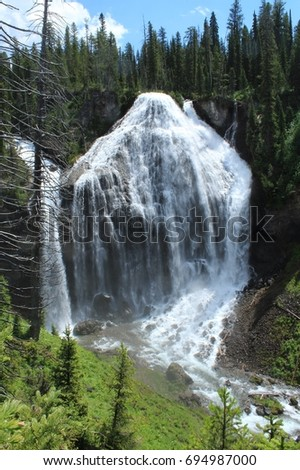 Yellowstone Union Falls