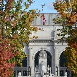 Union Station in Autumn - Washington DC, United States
