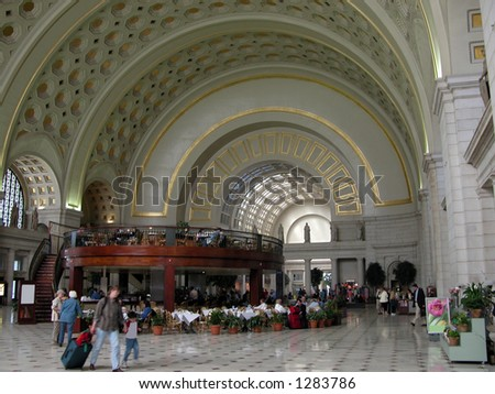 Union Station in Washington D.C.