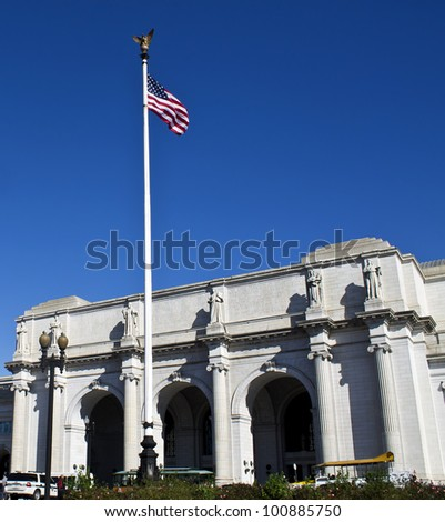 Union station in, Washington, DC, United States