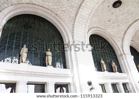 Union Station in Washington DC, USA