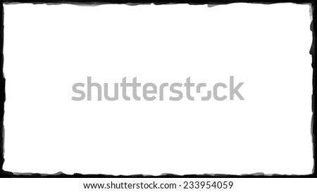 Unique Black border on white background thin #233954059