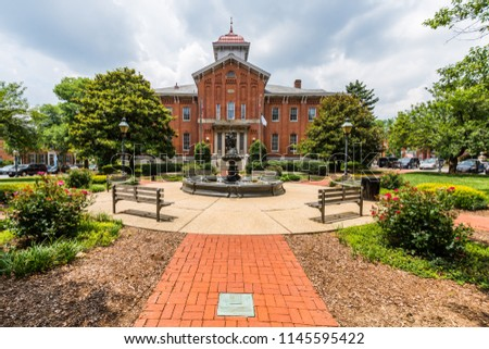 Unique City Hall building in Historic Downtown, Frederick, Maryland