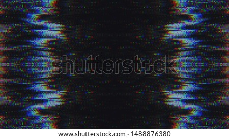 Unique Design Futuristic Abstract Digital Pixel Noise Glitch Background