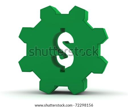 green dollar sign icon. green dollar sign icon. stock
