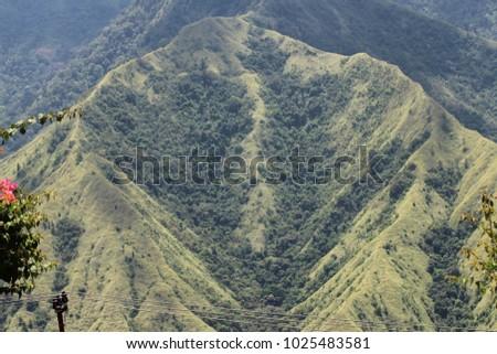 unique mountain like vagina