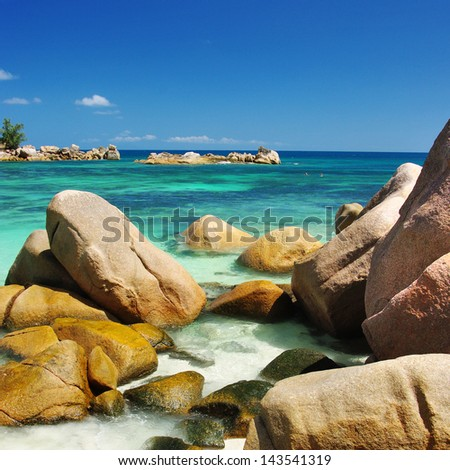 unique rocky beaches of Seychelles