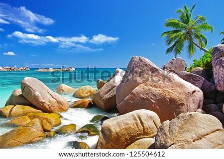 Unique Seychelles islands