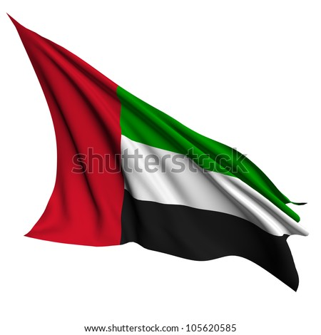 United Arab Emirates flag - collection no_4