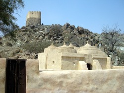 United Arab Emirates Fujairah Al Badiyah Mosque or Ottoman Mosque the oldest mosque in United Arab Emirates