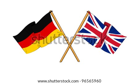 United Kingdom and Germany alliance and friendship