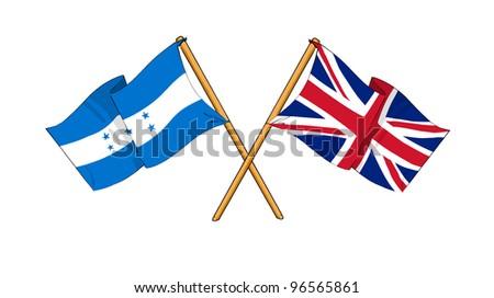 United Kingdom and Honduras alliance and friendship