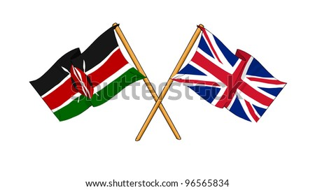 United Kingdom and Kenya alliance and friendship