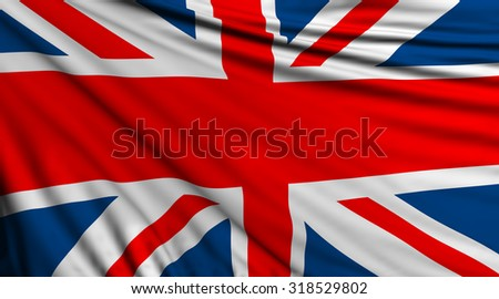 United Kingdom Background, English Flag, UK #318529802