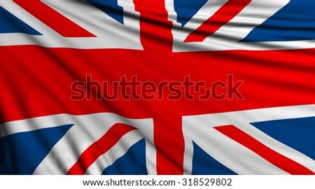United Kingdom Background, English Flag, UK #318529802