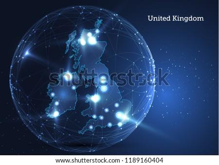 United Kingdom Globe