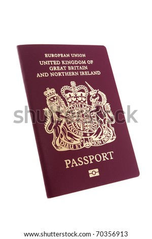 United Kingdom of Great Britain and Northern Ireland Passport