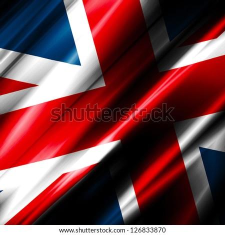 United Kingdom Waving Flag