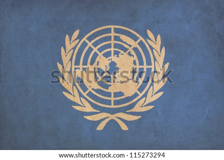 united nations flag drawing ...