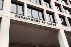 United Stated Department of Labor building in Washington DC