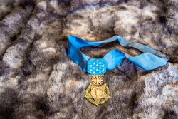 United States Air Force medal of honor.