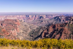 United States. Arizona. Coconino County. Grand Canyon National Park. Overlook from Roosevelt Point. The