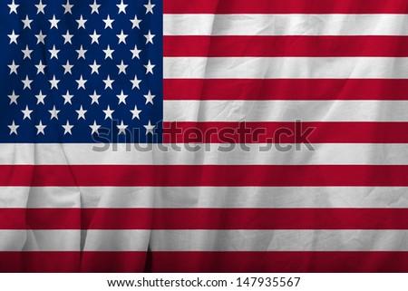United States Flag - stock photo