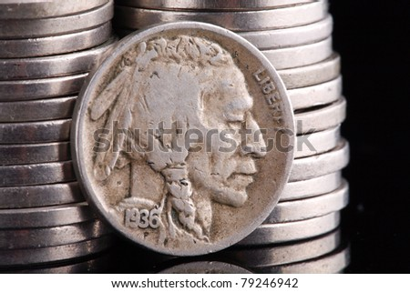 United States 1936 Indian Head Buffalo Nickel coin