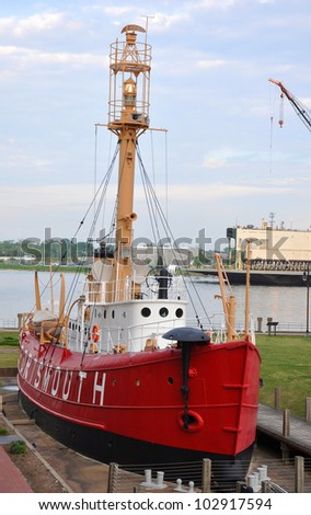 United States Lightship Portsmouth (LV-101), Portsmouth Naval Shipyard Museum, Portsmouth, Virginia, USA