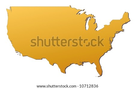 Fillable Us Map - Editable map of us states