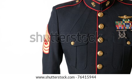 United States Marine Dress Blue Uniform