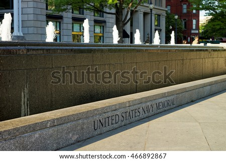 United States Navy Memorial is located in Washington D.C., USA. Associated with the Memorial is the Naval Heritage Center which works 362 days per year. It was established in 1987.