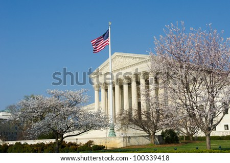 United States Supreme Court in spring