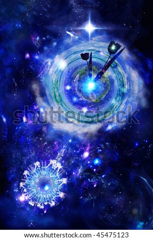 Universal clock, planetary time, expectation of the future