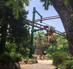 Universal Studio Singapore Roller Coaster