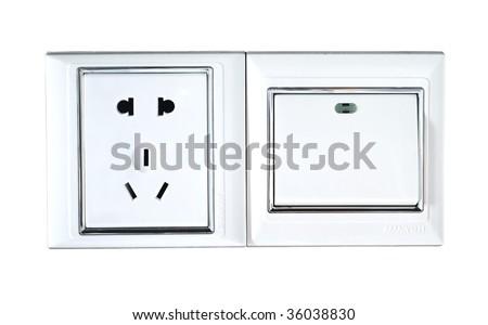 universal triple oblate switch socket