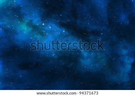 Universe and stars - Milky way galaxy