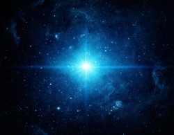 Universe filled with stars. Elements of this image furnished by NASA.