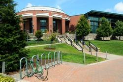 University campus building