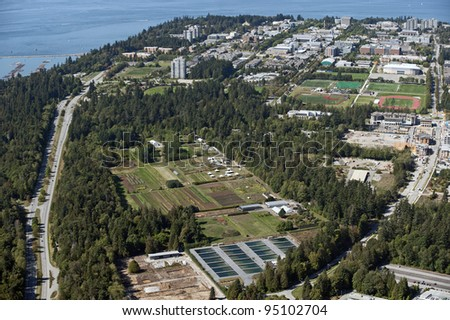 University of British Columbia  and Point Grey