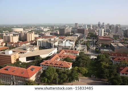 University of Texas at Austin campus - stock photo