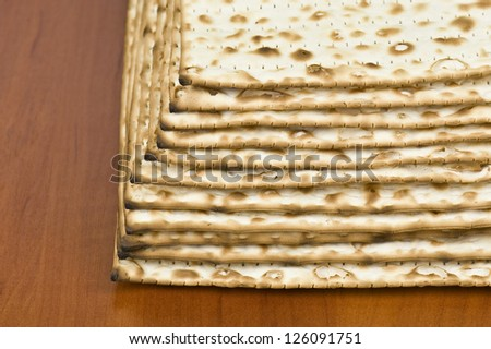 unleavened bread in the photo